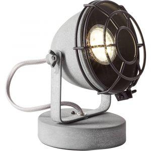 Brilliant AG Lampe de table LED GU10 28 W EEC: selon lampoule (A++ - E) Carmen 98992/70 gris béton