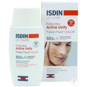 Isdin FotoUltra 100 Active Unify Color - 50 ml - SPF 50+