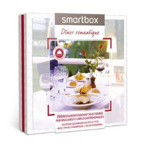 Smartbox Dîner romantique - Coffret cadeau gourmand