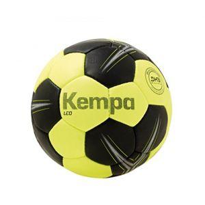 Kettler Kempa - Leo - Ballon d'entraînement - Mixte Adulte - Jaune (Fluo/Noir) - Taille : 3