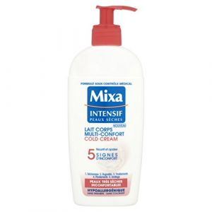 Mixa Intensif Peaux Sèches - Lait Corps Multi-Confort Cold Cream - 250 ml