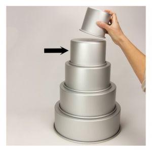 PME Moule aluminium rond Ø 15 x 10cm