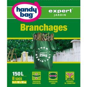 Handy Bag Sachet de 8 sacs de poubelle Branchages