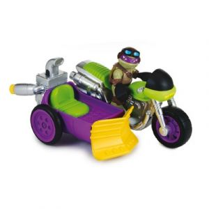 Giochi Preziosi Rippin Rider with biker Donatello - Figurine Tortues Ninja