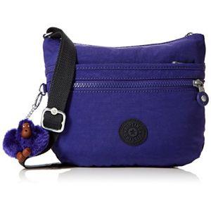 Kipling Arto S, Sacs bandoulière femme, Violet (Summer Purple), 15x24x45 cm (W x H x L)