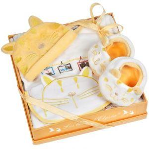 Les bébés d'Elyséa Coffret cadeau avec motif Chat
