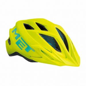 Met Casque junior Crackerjack Jaune fluo