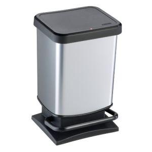 Poubelle de cuisine Paso en inox (20 L)