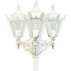 Albert Leuchten Lampadaire style rustique 756 blanc à 3 lampes