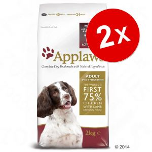 Applaws Adult Small & Medium Breed, poulet & agneau 7,5 kg