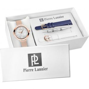 Pierre Lannier 392B908 - Coffret montre pour femme avec 3 bracelets