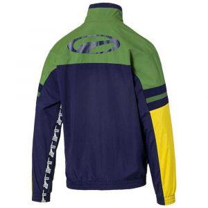 Puma Xtg veste de survêtement Hommes bleu vert T. S