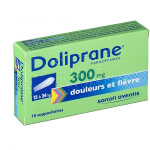 Sanofi Doliprane 300 mg - 10 Suppositoires