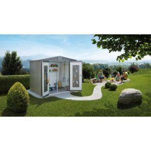 Biohort Europa T4A - Abri de jardin métal 4.41 m²
