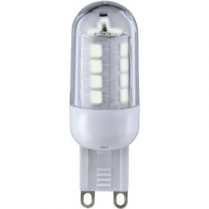 Sygonix Ampoule LED G9 9283c85a à broches 3 W = 25 W blanc chaud (Ø x L) 19.50 mm x 59 mm EEC: A+ 1 pc(s)