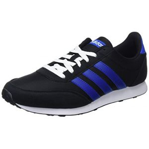 Adidas V Racer 2.0, Chaussures de Running Homme, Noir (Core Black/Collegiate Royal/Footwear White 0), 47 1/3 EU