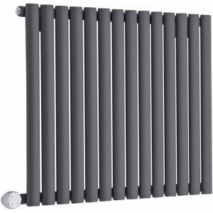 hudson reed radiateur design horizontal anthracite vitality 63 5cm x 83 4cm x 5 6cm comparer. Black Bedroom Furniture Sets. Home Design Ideas