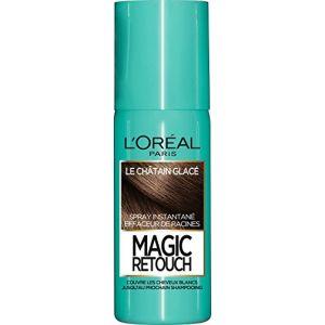 L'Oréal Magic retouch - Spray instantané effaceur de racines le châtain glacé 75 ml