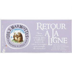 Les 2 Marmottes Infusions Retour à La Ligne - La boite de 30 sachets, 45g