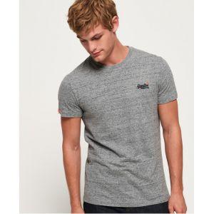 Superdry T-shirts Orange Label Vintage Embossed - Flint Steel Grit - XXL