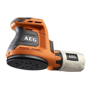 AEG Ponceuse excentrique 18V 125mm Li-ion sans batterie ni chargeur BEX18-125-0
