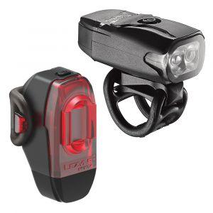 Lezyne KTV Pair Eclairage vélo/VTT LED Rechargeable USB Mixte Adulte, Black, FR Unique (Taille Fabricant : t.One sizeque)
