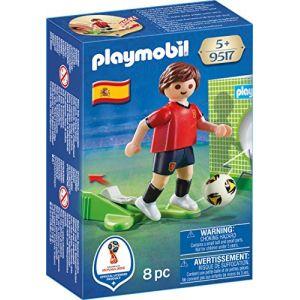 Playmobil 9517 - Coupe du Monde de la FIFA Russie 2018 - Joueur de foot Espagnol
