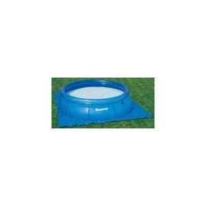 Bestway 58002 - Tapis de sol 3,96 x 3,96 m pour piscine ronde Ø 3,66 m