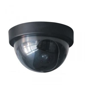 Chacon 34484 - Caméra de surveillance factice dôme avec Led
