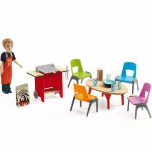 Djeco Kit meubles barbecue et accessoires