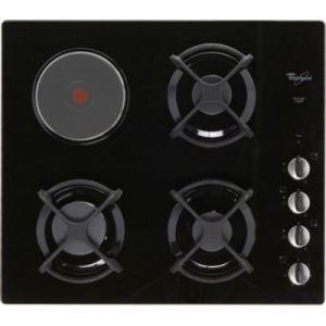 Whirlpool AKM404NB/01 - Table de cuisson mixte (gaz et électrique) 4 foyers
