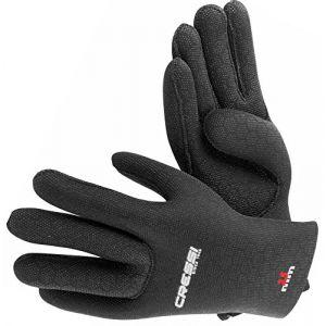 Cressi High Stretch Gants pour Plongée/Chasse sous-marine epaisseur 2.5mm Noir L