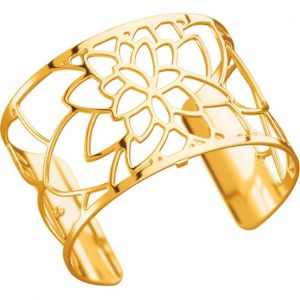 Les Georgettes Bracelet Nénuphar Or Large