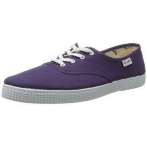 Victoria Inglesa Lona, Baskets mode mixte adulte Violet (Purpura) 35 EU