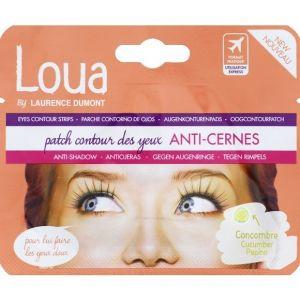 Loua Patch contour des yeux anti-cernes concombre