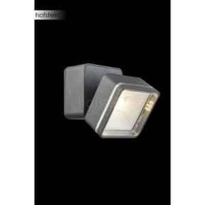 Globo Lighting EEK A+, Luminaire d'extérieur LED Lissy III - Matériau synthétique / Aluminium - 1 ampoule