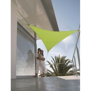 Morel VS 360 - Voile d'ombrage triangulaire Serenity 3,60 m - 185 g/m²