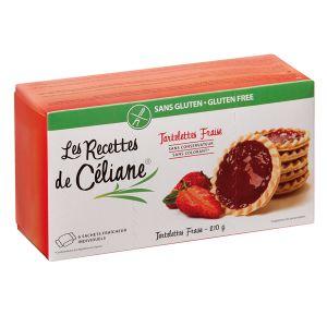 Les Recettes de Céliane Tartelettes Fraise Sans Gluten 150g