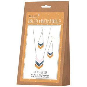 Toga Kit de création de bijoux - Bracelet et boucles d'oreilles Nude