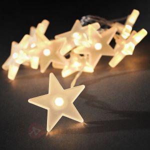 Konstsmide 1405-133 - Guirlande lumineuse LED avec motifs étoile