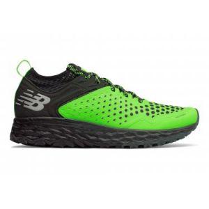 New Balance Fresh Foam Hierro v4, Chaussures de Course sur Sentier Homme, Vert Bright Green, 43 EU