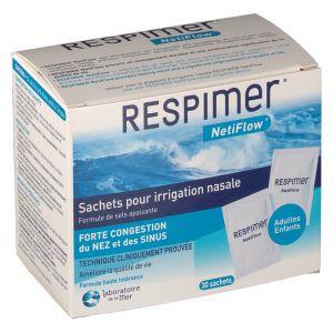 Laboratoire de la Mer Respimer - Sachets pour irrigation nasale (30 sachets)