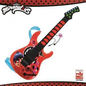 Reig Musicales Guitare électronique Lady Bug Miraculous