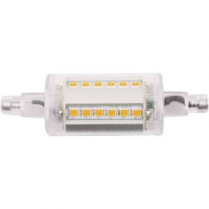 LightMe Ampoule LED R7s LM85118 en forme de tube 4.5 W blanc chaud (Ø x L) 24 mm x 78 mm EEC: A++ 1 pc(s)