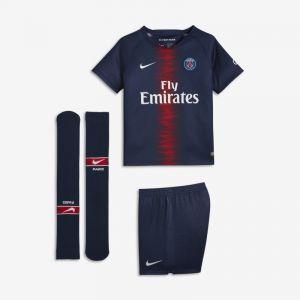 Nike Tenue de football 2018/19 Paris Saint-Germain Stadium Home pour Jeune enfant - Bleu - Couleur Bleu - Taille S
