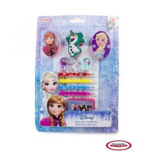 D'arpèje Mini set tampons + coloriage La Reine des neiges