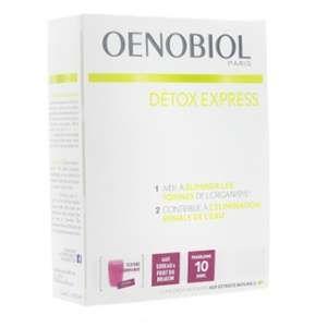 Oenobiol Detox Express sureau-fruit du dragon - 10 sticks