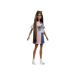 Mattel Poupée Barbie Fashionistas - Robe Licorne - FXL43