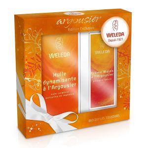 Weleda L'Argousier - Coffret huile dynamisante et crème mains