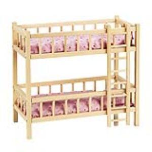 Goki RA 206 - Lits superposés de poupée avec échelle
